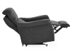 Dark Grey Reclining, Rocking and Battery Motorized Upholstered Armchair - ELRAN product photo other06 S