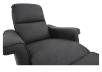 Dark Grey Reclining, Rocking and Battery Motorized Upholstered Armchair - ELRAN product photo other07 S