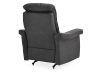 Dark Grey Reclining, Rocking and Battery Motorized Upholstered Armchair - ELRAN product photo other09 S