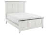 White and Grey Wood Bedroom Set - Queen product photo other01 S
