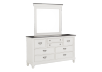 White and Grey Wood Bedroom Set - Queen product photo other04 S