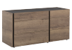 Beige and Dark Grey 6-Drawer Dresser product photo other01 S