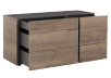 Beige and Dark Grey 6-Drawer Dresser product photo other02 S