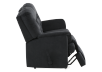 Black Reclining Upholstered Loveseat product photo other03 S