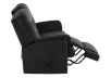 Black Reclining Upholstered Loveseat product photo other04 S
