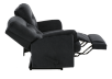 Black Reclining Upholstered Loveseat product photo other05 S