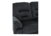 Black Reclining Upholstered Loveseat product photo other06 S