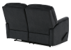 Black Reclining Upholstered Loveseat product photo other08 S