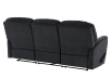 Dark Blue Reclining Upholstered Sofa product photo other08 S