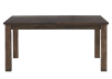 Grey-Brown Table with Central Leaf product photo