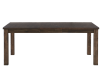 Grey-Brown Table with Central Leaf product photo other01 S