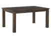 Grey-Brown Table with Central Leaf product photo other02 S