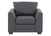 Grey Upholstered Armchair product photo