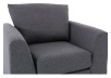 Grey Upholstered Armchair product photo other03 S