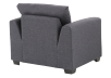Grey Upholstered Armchair product photo other05 S