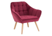 Red Upholstered Side Chair product photo other01 S