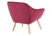 Red Upholstered Side Chair product photo other05 S