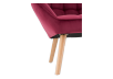 Red Upholstered Side Chair product photo other06 S