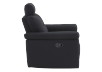 Black Reclining Upholstered Armchair - ELRAN product photo other02 S