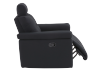 Black Reclining Upholstered Armchair - ELRAN product photo other03 S