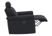 Black Reclining Upholstered Armchair - ELRAN product photo other04 S