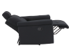 Black Reclining Upholstered Armchair - ELRAN product photo other05 S