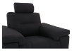 Black Reclining Upholstered Armchair - ELRAN product photo other06 S