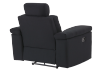 Black Reclining Upholstered Armchair - ELRAN product photo other08 S