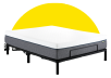 Collection HOP - HOP BASE AJUSTABLE - Queen Motorized Adjustable Bed Frame for Mattress-in-a-Box product photo