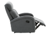 Grey Upholstered Reclining and Rocking Armchair product photo other04 S