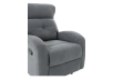 Grey Upholstered Reclining and Rocking Armchair product photo other06 S