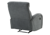 Grey Upholstered Reclining and Rocking Armchair product photo other08 S