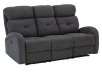Grey Reclining and Motorized Upholstered Sofa product photo other01 S