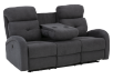 Grey Reclining and Motorized Upholstered Sofa product photo other02 S