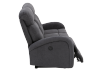 Grey Reclining and Motorized Upholstered Sofa product photo other04 S