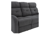 Grey Reclining and Motorized Upholstered Sofa product photo other07 S