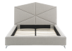Grey Upholstered - King Bed product photo other06 S
