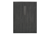Dark Grey Wall Murphy Bed - Double Bed product photo