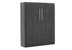 Dark Grey Wall Murphy Bed - Double Bed product photo other03 S