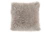 "16x16"" Brown Grey Wool Decorative Pillow product photo"