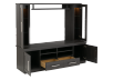 Dark Grey TV Stand with Storage product photo other02 S