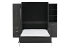 Dark Grey Wall Murphy Bed - Queen Bed product photo other01 S