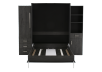 Dark Grey Wall Murphy Bed - Queen Bed product photo other03 S
