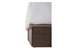 Brown Grey 2-Drawers Queen Platform Bed product photo other05 S