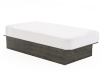 Grey Twin Platform Bed product photo