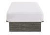Grey Twin Platform Bed product photo other01 S
