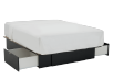 Black 2-Drawer - Queen Platform Bed product photo other02 S