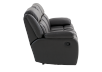Dark Grey Reclining Loveseat product photo other03 S
