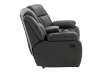 Dark Grey Reclining Loveseat product photo other02 S
