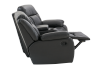Dark Grey Reclining Loveseat product photo other05 S